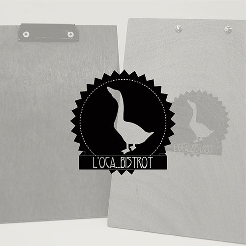 L'oca-Bistrot logo