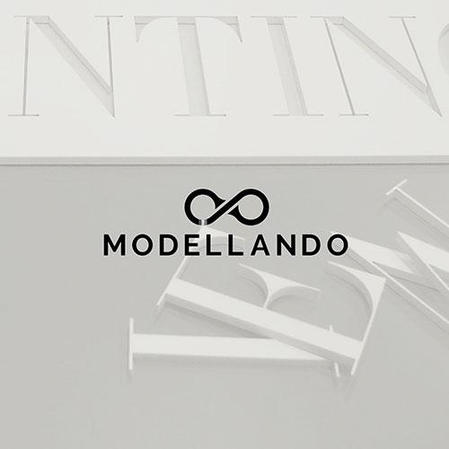 Modellando logo